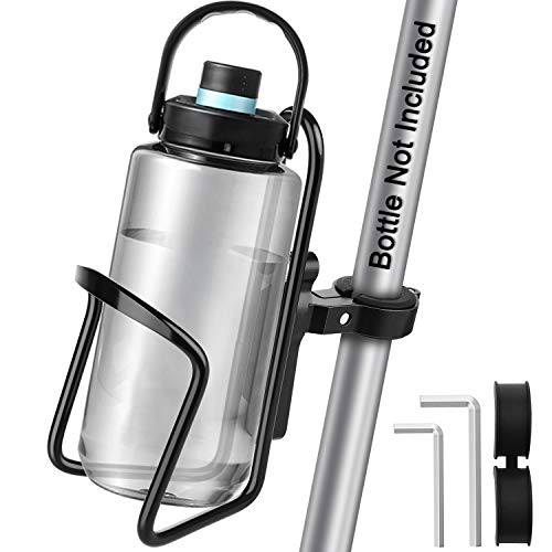 Porta Borraccia Bici, [Materiale Premium ] Diyife Portaborraccia Bici Impermeabile Portabottiglie In Alluminio Leggero Portaborraccia mtb con Staffa Fissa per Bici