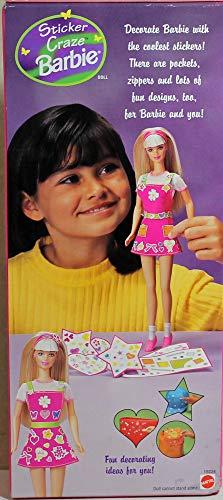 Sticker Craze Barbie Doll w Stickers (1997)