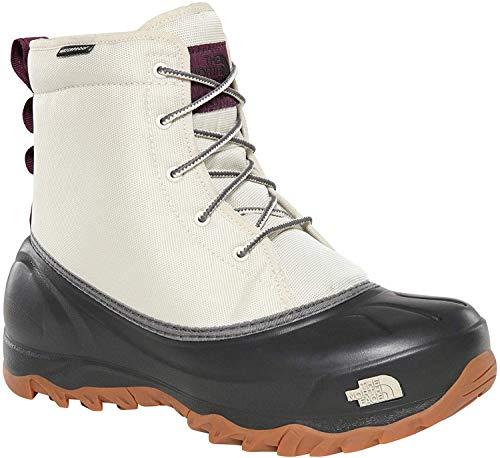 The North Face Women's W TSUMORU High Rise Hiking Boots, White (BONE WHITE/TNF BLACK GSW), 5 (38 EU)