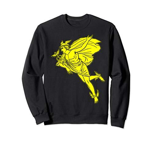 Hermes God Vintage Gift Hermes Caduceus Greek Mythology Sweatshirt
