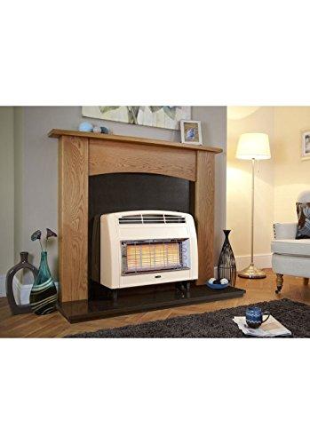 Designer Fire Flavel Forsc0en Cream Strata Gas Fire -ec