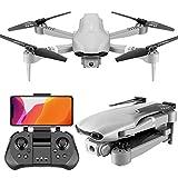 HPYR Drone cuadricóptero posicionable – Drone plegable con cámara de vídeo 4K Ultra HD, ángulo amplio de 110°, transmisión en vivo, 300 m de transmisión en vivo, 25 minutos