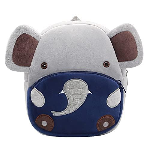 Cartoon Animal Backpack, Cute Toddler Bag Cute School Bags for 2-5 Years...
