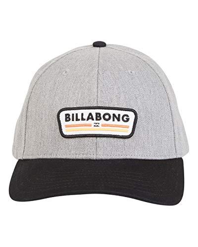 BILLABONG Walled Snapback Caps, Hombre, HTHR Grey/Black, U