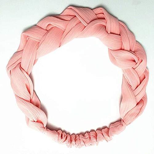 TSEINCE Mode Vrouwen Hoofdband Turban Elastische Vlecht Haarbanden Voor Meisjes Haaraccessoires Vintage Knoop Vrouwelijke Haarband