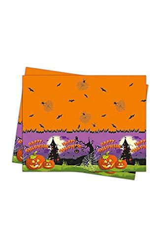 Procos NIEUW tafelkleed Spooky Halloween, 120x180 cm