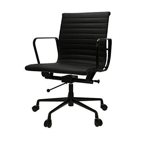 Eames Bureaustoel EA117 Premium Zwart Onderstel