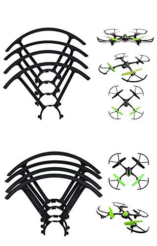 Set of Two Propeller Guards for Sky Viper Drones Small and Big v2400HD v2450FPV v2450GPS Scout Journey s1700 s1750 Fury