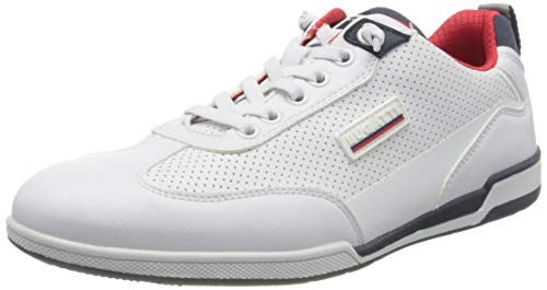 bugatti Herren 321726065000 Sneaker, Weiß, 42 EU