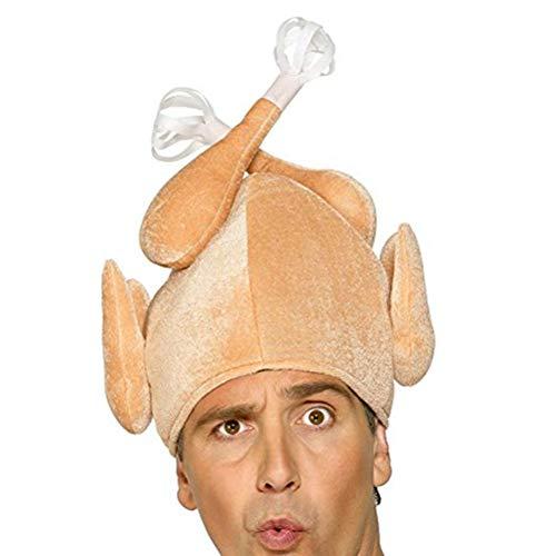 Fenical Cappello da tacchino del Ringraziamento Divertente copricapo carino Ringraziamento Mascherata Prestazioni Costume Prop Accessorio