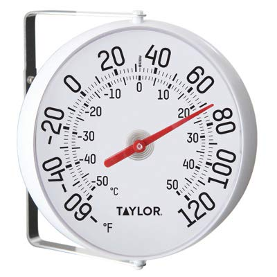Springfield 5159 5-1/4-Inch Diameter Outdoor Thermometer - Quantity 6