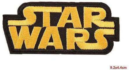 Parches bordados Star Wars diferentes diseños Amarillo