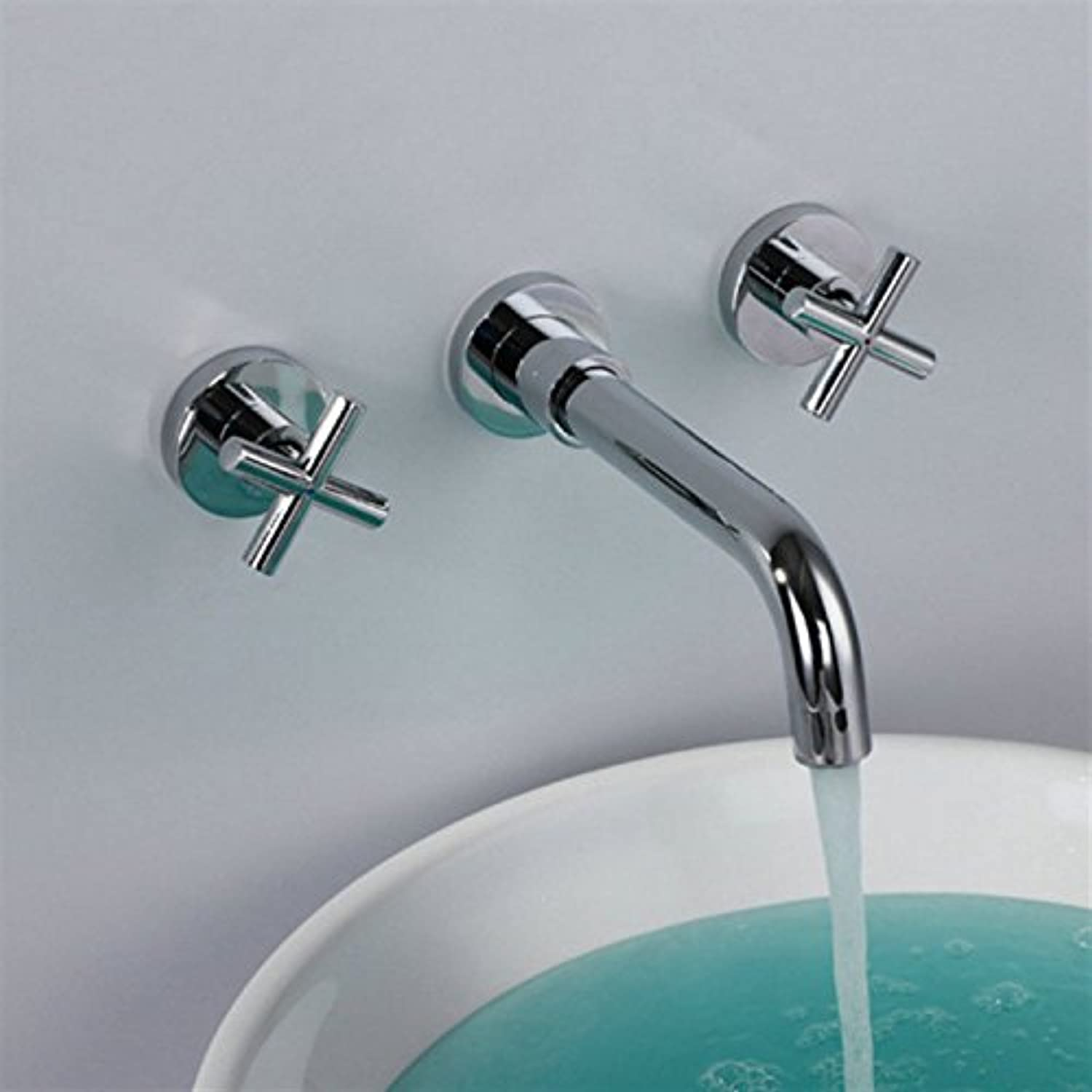 Bijjaladeva Antique Bathroom Sink Vessel Faucet Basin Mixer Tap The Brass Flush Mount basin kitchen sink hot and cold dishes double to the wall mounted basin mixer
