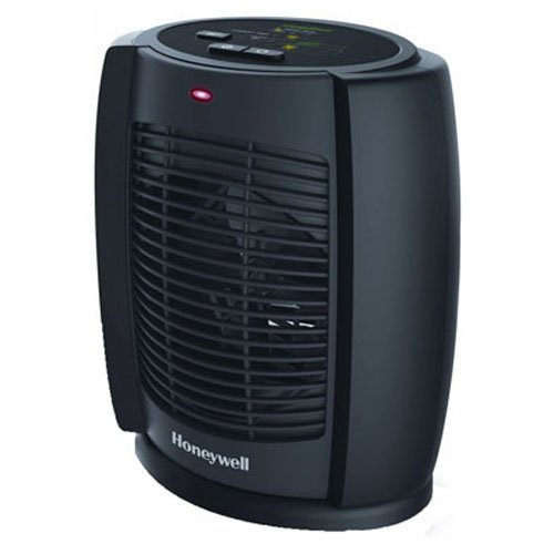 Honeywell HZ-7300 Deluxe Energy Smart Cool Touch Heater, Black