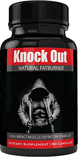 Instant Knockout Fat Burner Diet Supplement Pill for Men and Women - High Impact Weight Loss Dietary Pills Knock Out by nutra4health - 60 Days