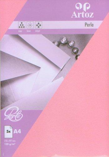 Artoz Papier AG - Perle Papier A4 (120g/m²) 5er-Pack princess