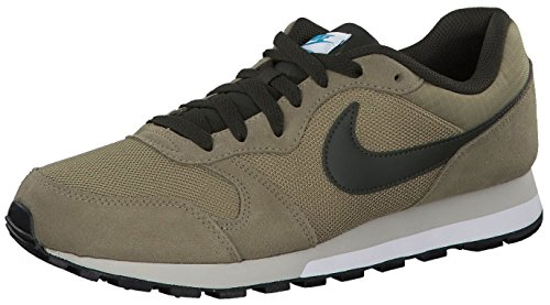 Nike Md Runner 2, Herren Gymnastikschuhe, Grün (Cargo Khaki/Bianco/Light Bone 301), 40.5 EU