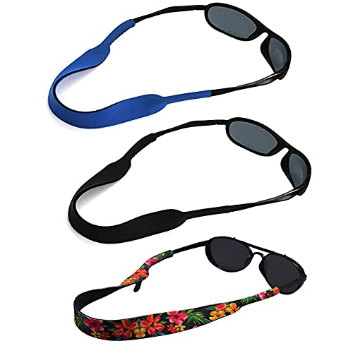 Sunglasses Floating Straps Men Women Adults Fashionable Waterproof Fishing Swimming Neoprene Glasses Strap for Sports Activities