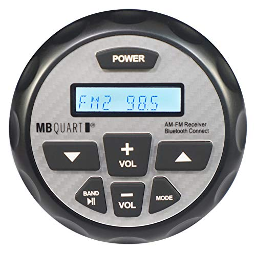 MB Quart GMR-2.5 Waterproof AM/FM Powered Bluetooth Controller with Apple Control