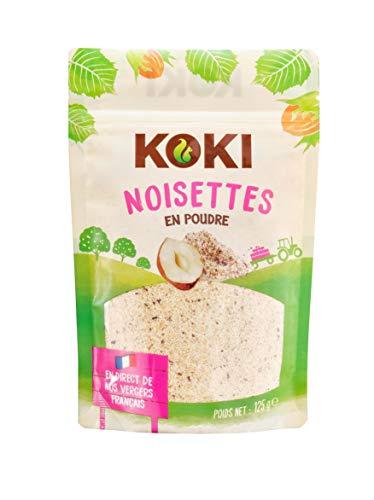 KOKI - Poudre de Noisette - Origine France - 125g