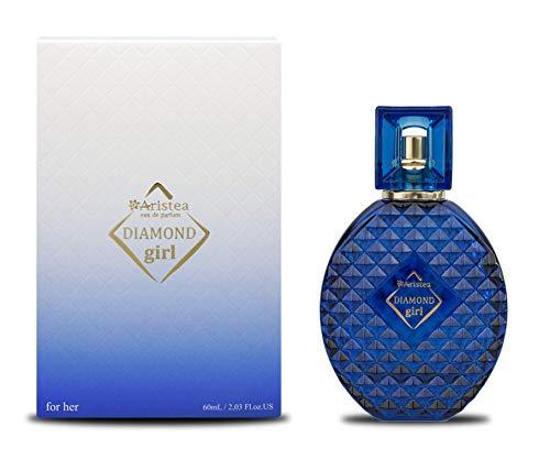 Aristea - Parfum Damen Diamond Girl, Eau de Parfum, orientalisch-blumiges Parfüm für Frauen und Mädchen mit unvergesslichem Duft (1 x 60 ml)