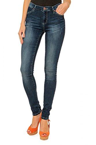 Fiveunits 5Units Damen Jeans Skinny Slim Leg Jeans PENELOPE, Farbe: Blau, Größe: 31