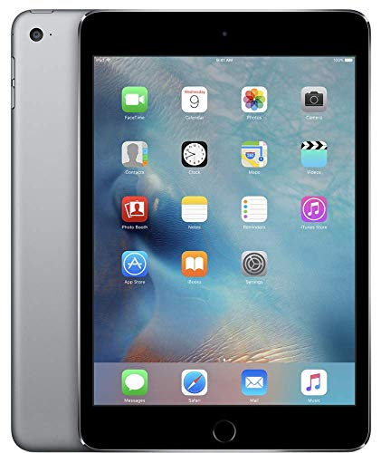 Apple iPad Mini 4 32GB Wi-Fi - Space Grey (Renewed)