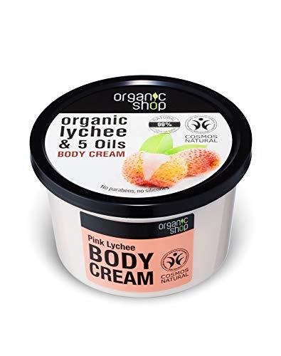 Organic Shop Lichi Rosa Crema Corporal - 250 ml