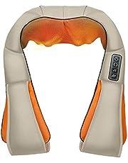 Yupfun PU Neck And Shoulder Hot Moxibustion Massager Yellowish and Orange