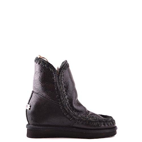 Mou Eskimo Boot Wedge - Botas para mujer Negro Glitter Black 36