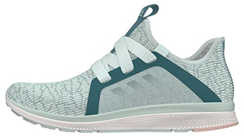 Adidas Women's Edge Luxe Training Running Shoes, Multicolor (Vapour Green/Tech Green/Vapour Steel), 4.5 UK