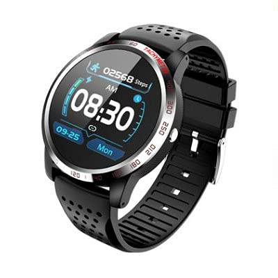 Bysion Smart Sports Watch, Men, IP67 Waterproof, Heart Rate Blood Pressure Blood Oxygen Sleep Monitor, 10 Sports Modes