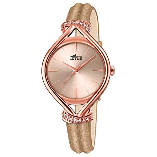 Lotus Reloj para de Cuarzo con Correa en Cuero 18400/2