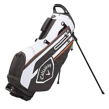 Callaway Golf 2021 Chev Stand Bag  Charcoal/White/Orange