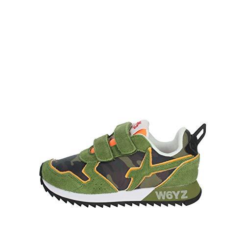 W6yz Zapatillas Bajas para niño Verdone 0012013567.01. Verde Oscuro 34