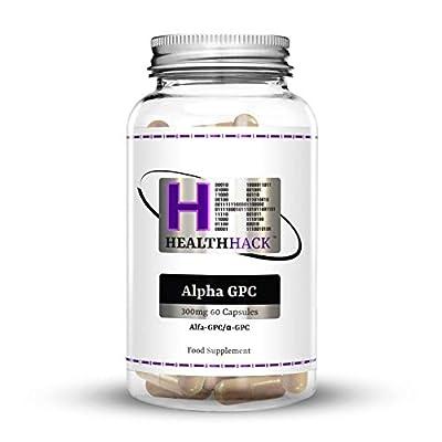 Health Hack Alpha GPC, 300 mg, 60 Capsules