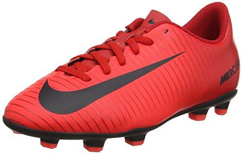 Nike Jr Mercurial Vortex III FG, Zapatillas de Fútbol Unisex Niños, Multicolor (University Redblackbright Crimson), 30 EU