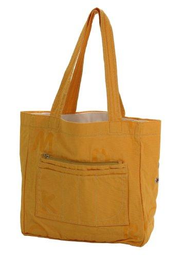 Mandarina Duck Shopping V2T03 Shopper Cotton Tasche Henkeltasche Bag 30x30x12 cm(Yellow/V2T03208)