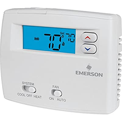 Emerson 24 Volt Digital Heat/Cool Thermostat - HVAC - Air Conditioning Refrigeration