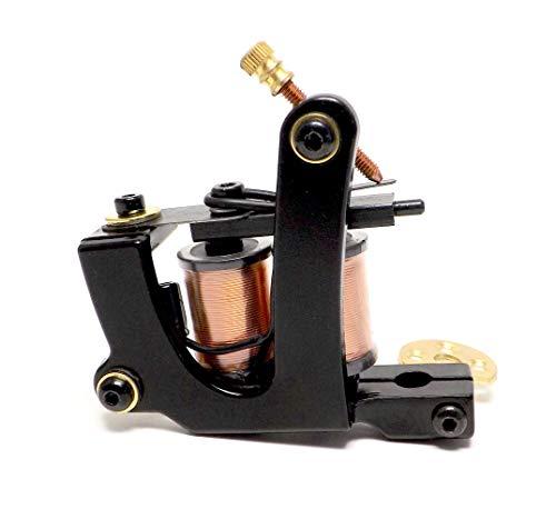 INKgrafiX® INKgrafiX® IG-30 10Wrap - Máquina de bobina, color negro, calidad de estudio IG56375