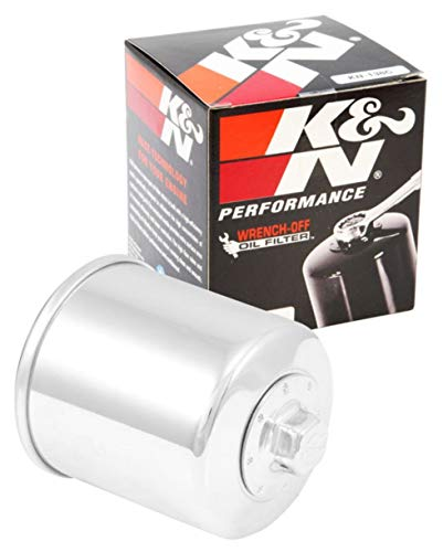 K&N Motorcycle Oil Filter: High Performance, Premium, Designed to be used with Synthetic or Conventional Oils: Fits Select Suzuki Vehicles, KN-138C