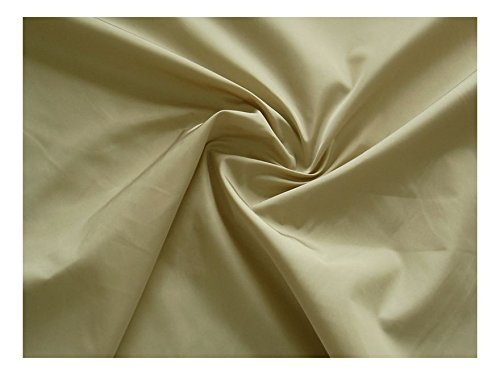 Fabrics-City BEIGE SUPER LEICHTER NYLONSTOFF NANOEFFEKT STOFF STOFFE, 2654