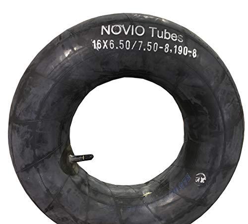 Slang 16 x 6.50-8/7.50-8 en ook maat 190-8, recht ventiel, topkwaliteit, geschikt voor banden grasmaaiers, zitmaaier, recht ventiel