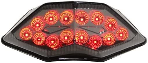 Integrated Sequential LED Tail Lights Smoke Lens for 2013-2017 Kawasaki Ninja 300
