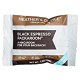 Heather's Choice Packaroons, Black Espresso, Wholesome, Gluten-Free, Allergen-Friendly Coconut Cookies for Backpacking, Camping, Hunting and Travel (Pack of 8)