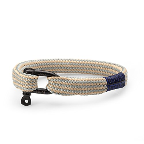 Pig and Hen Whiskey Willy Herren-Armband Silver/Sand P16-81202 (18)