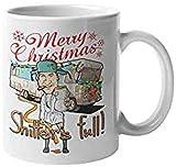 Tazza da caffè a forma di criceto e gatto con cappello di Babbo Natale, sensibile al calore, cambia colore, per donne, uomini, bambini, mamma, papà e amici
