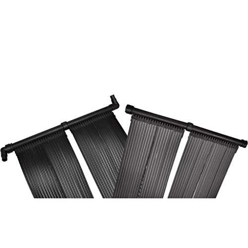 vidaXL Poolheizung 620x75cm Pool Solarheizung Solarabsorber Solarmatte