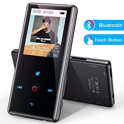 Lettore MP3 Bluetooth 4.0, 16 GB MP3 Touch Pulsante di...