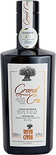 Terra Creta Grand Cru - Preisgekröntes Extra Natives Olivenöl (500ml)